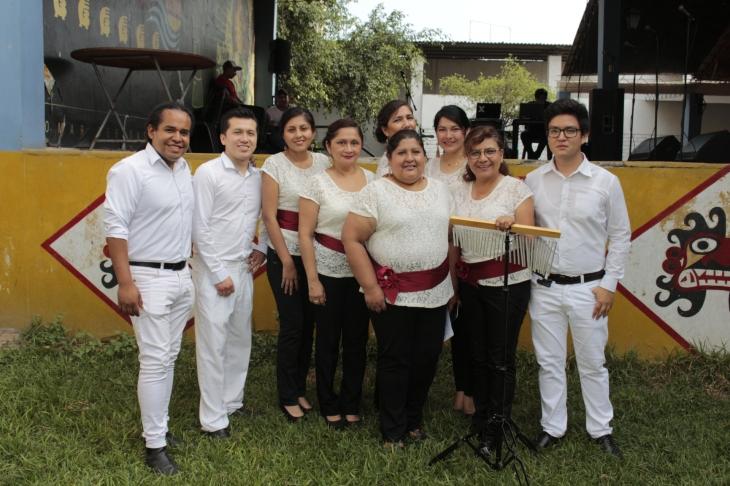 Nuestra peña participando en la 36° Olimpiadas Inter Colegios Profesionales 2019.