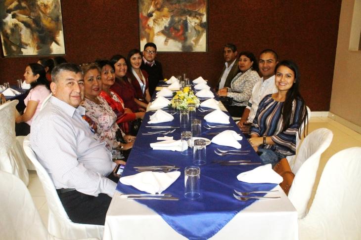 Almuerzo de confraternidad por el 39° aniversario de Trabajo Social.